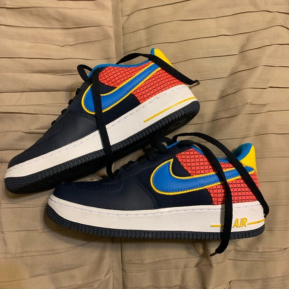 Nike Shoes | Nike Air Force In Blue